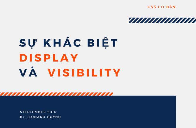 su khac biet display và visibility